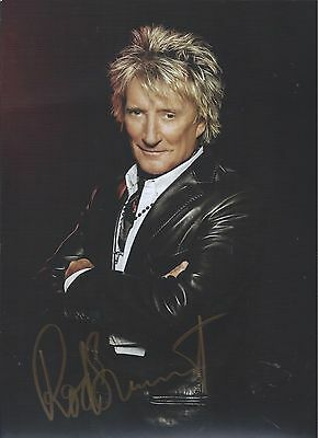 Rod Stewart Signed Autographed 9x12 Promo Photo The Faces