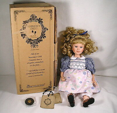 """Boyds Yesterday's Child """"Andrea"""" #4822, Blond Hair Blue Eyes Collectible Doll"""