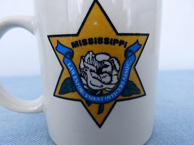 Mississippi Law Enforcement Officers Association Police Sheriff Coffee Mug Cup