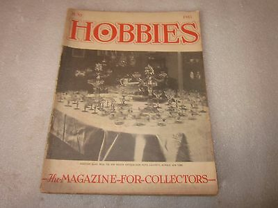 1945 Hobbies The Magazine for Collectors June issue Venetian Glass