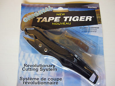 Tape Tiger Original Hockey Blade Tape Cutter Remover! New, Safe Easy and Quick