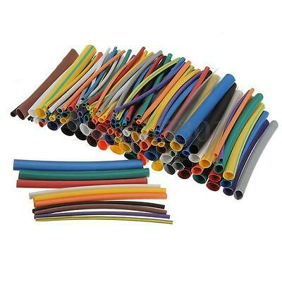 144pcs Heat Shrink Tubing Assortment Electrical Connection Cable Sleeve 6 Size