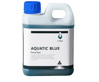 Aquatic Blue Pond Dye 1Litre - Aquatic Weed & Algae Growth Suppressant