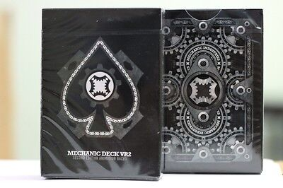 Mechanic Deck Vr2 Bicycle Playing Cards By Uspcc Marked Deck Magic Tricks Gaff