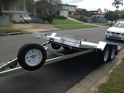 Ideal Race Car Trailer Hydraulic Tilt 4.5m (15') 2.9t GVM - NO RAMPS