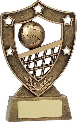 Volleyball Trophy Award 130mm FREE Engraving 13527