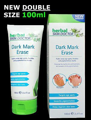Herbal Skin Doctor Dark Mark Erase Age Spots Removal Freckles Ageing cream 100ml