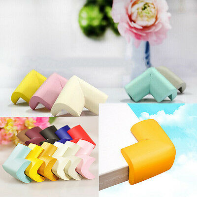 4 x Toddler Baby Kids Safety Soft Foam Sponge Corner Table Edge Protector Angle