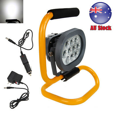60W Portable Work Light Rechargeable10LED Outdoor Flood Spot Hiking Camping Lamp