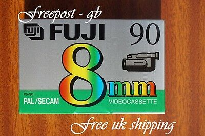 FUJI P5-90MP VIDEO 8mm / Hi8 VIDEOCAMERA NASTRO / CASSETTE - QUALITÀ SUPERBA