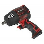 """SEALEY SA6006 Composite Air Impact Wrench 1/2""""Sq Drive Twin Hammer"""