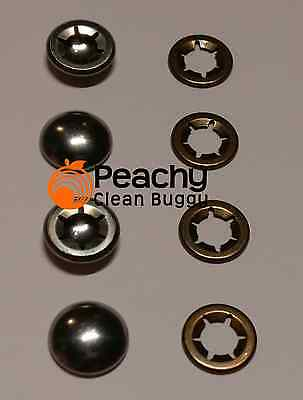Hub Cap & Starlock Set Bugaboo Cameleon, Frog and Gecko Chassis - Front Wheel x2