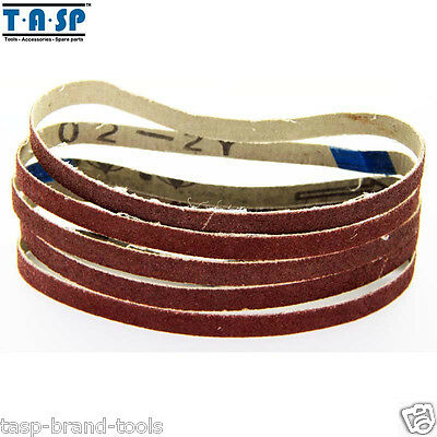 """50Pc 10X330mm 3/8""""x13"""" Sanding Belt Paper with Grit 60 80 120 240 Abrasive Tools"""