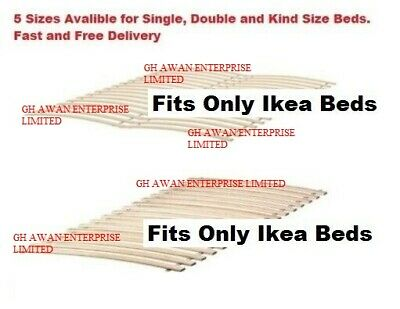 Ikea LUROY Slatted Bed Base,Single,Double,King & European Size Bed Slatted Base