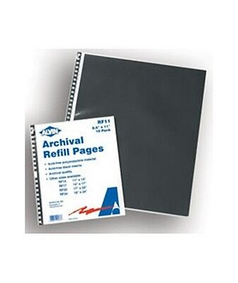 "Alvin ARCHIVAL REFILL PAGES 10/PACK 8 1/2"" x 11"" RF11"