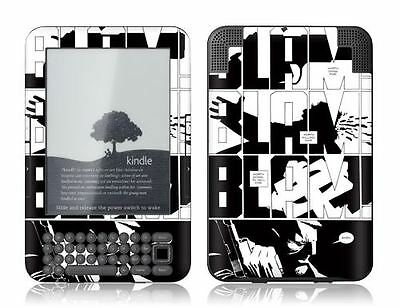 Gelaskins Protective Vinyl Skin for Kindle Keyboard - Worth Dying For