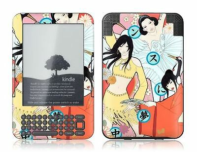Gelaskins Protective Vinyl Skin for Kindle Keyboard - Crazy for Dance