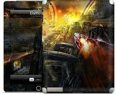 GelaSkins Protective Skin for Apple iPad 2/3/4 - Battlestar
