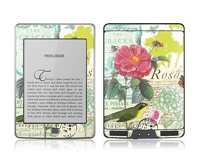 Gelaskins Protective Vinyl Skin for Kindle Touch -  Flora and Fauna