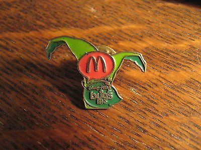 Disney Bug's Life Pin - Vintage 1998 Restaurant Pixar Movie Jester Hat Lapel Pin