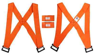 New Lifting Shoulder Straps Moving Fork Lift Aid Tool Heavy Furniture Holder