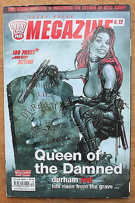 2000 AD Megazine - 2 July 2002 - Queen of the Damned - Sinmon Pegg,Judge Dredd