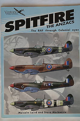WW2 Australia New Zealand RAF Spitfire The ANZACS through Reference Book