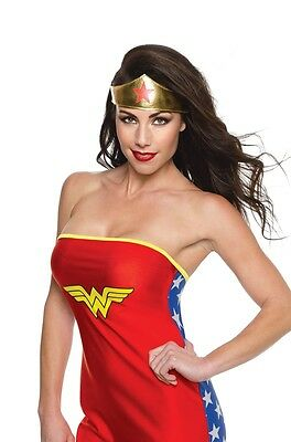 Rubies Wonder Woman Tiara, Gold