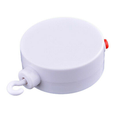 F8 Baby Mobile Crib Bed Bell Electric Autorotation Music White Box 12 Melodies
