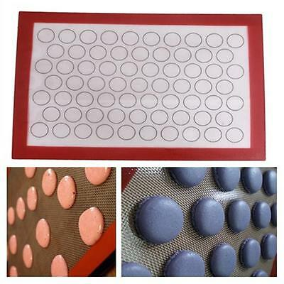 Nonstick Silicone Mat Baking Oven Pastry Liner Macaron Cake Sheet Silpat Kitchen