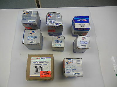 Lot Of 23 Assorted Carquest Oil Filters