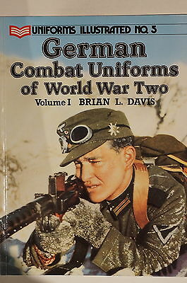 WW2 German Combat Uniforms of World War Two Vol.1 No.5 Reference Book