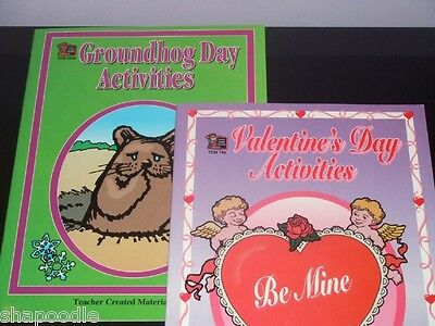 2 BOOKS OF ACTIVITIES by Teacher Created Resources NEW