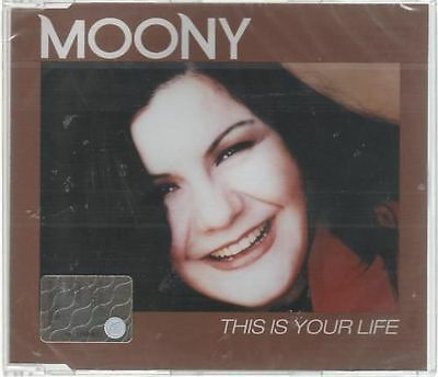 MOONY THIS IS YOUR LIFE MAXI CD SINGOLO SINGLE cds SIGILLATO!!!