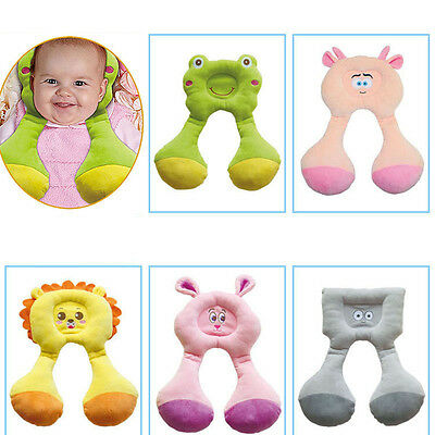1-4 years Baby Kids Safety Neck Pillow U-shaped Travel Pillow Car Seat Cushion