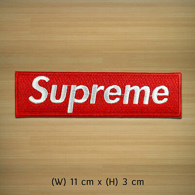 New Supreme EMBROIDERED PATCH IRON ON or SEW , Winner Racing DIY Hobby Clothes