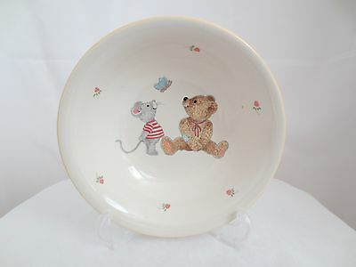 Mikasa TEDDY Child Cereal Bowl Bear Mouse Butterfly Ladybug Strawberry #CC018