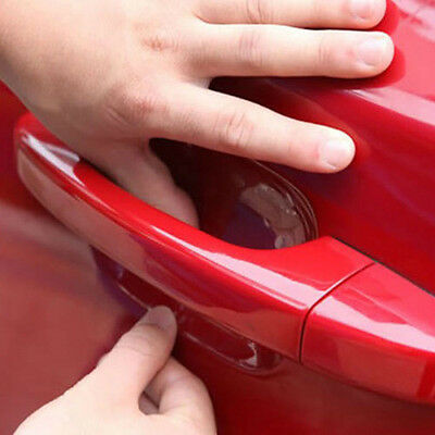 8pcs Auto Pickup SUV Door Handle Invisible Anti Scratch Protector Films Sticker