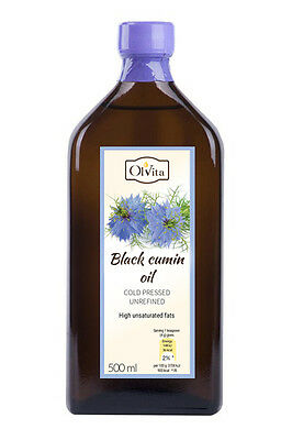 BLACK SEED OIL/Black Cumin/cold pressed 500 ml czarnuszka Free Quick Delivery!!