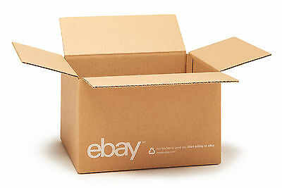 "(25 count) eBay Branded Boxes 10"" x 8"" x 6"" - Shipping Supplies"
