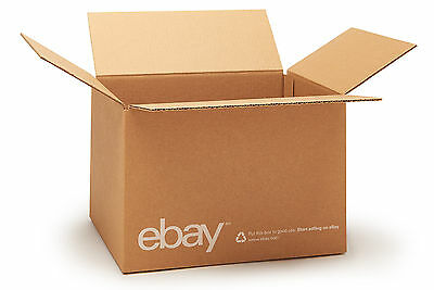 "(25 count) eBay Branded Boxes 12"" x 10"" x 8"" - Shipping Supplies"