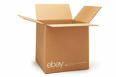 "(25 count) eBay Branded Boxes 12"" x 12"" x 12"" - Shipping Supplies"