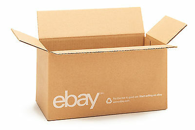"(25 count) eBay Branded Boxes 12"" x 6"" x 6"" - Shipping Supplies"