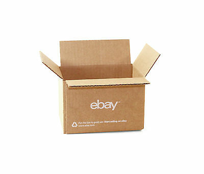 "(25 count) eBay Branded Boxes 6"" x 4"" x 4"" - Shipping Supplies"