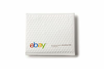 """(100 count) eBay Branded Airjacket Envelopes 6.5"""" x 8.75"""" - Shipping Supplies"""