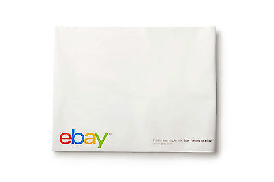 "(100 count) eBay Branded Polyjacket Envelopes 12"" x 15"" - Shipping Supplies"