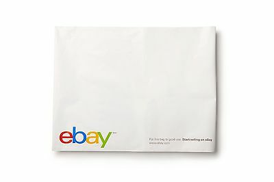 "(100 count) eBay Branded Polyjacket Envelopes 14.5"" x 18.5"" - Shipping Supplies"