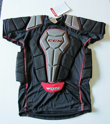 CCM RBZ JR Compression Padded Roller Hockey Shirt! Inline, Lacrosse, All Sizes