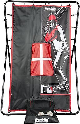 Baseball Softball Pitching Target Training Aid Practice Net Throwing Screen New