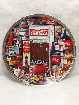 The Era's of Coca Cola Collector Plate 1960-70 Plate #1829